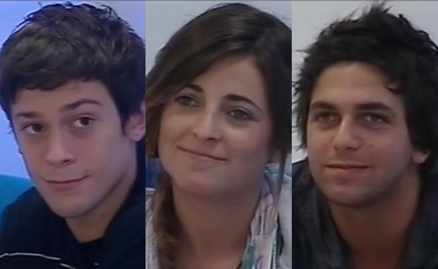 Gran Hermano 2012: Nazareno, Agustina y Rodrigo, nominados