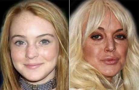 Video del día: las mil caras de Lindsay Lohan