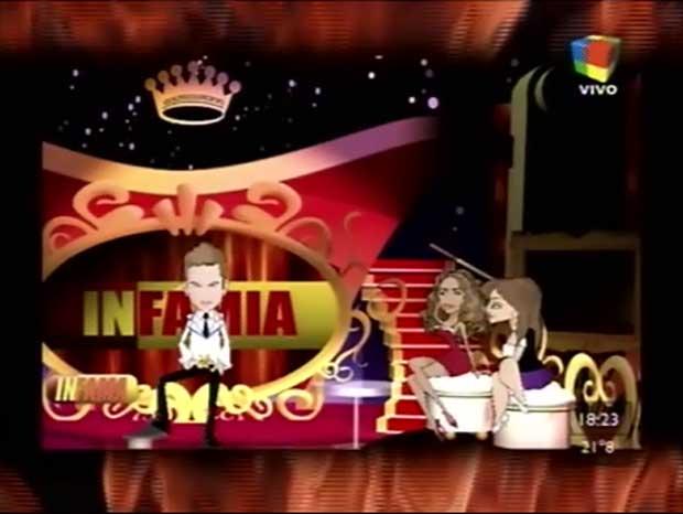 Viviana Sarnosa debutó con sus dibujitos en Infama