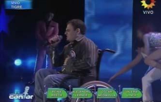 Soñando por cantar 2012: un participante en silla de ruedas brilló con su voz