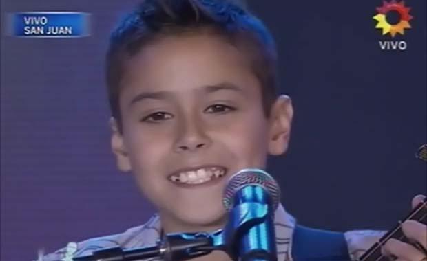 Soñando por cantar 2012: un chico de 12 años cantó una chacarera y emocionó con su gran voz y carisma