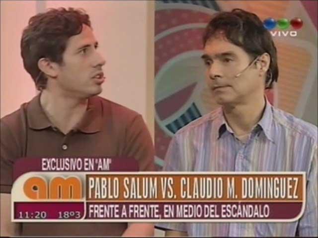 El debate entre Claudio María Domínguez y Pablo Salum en AM