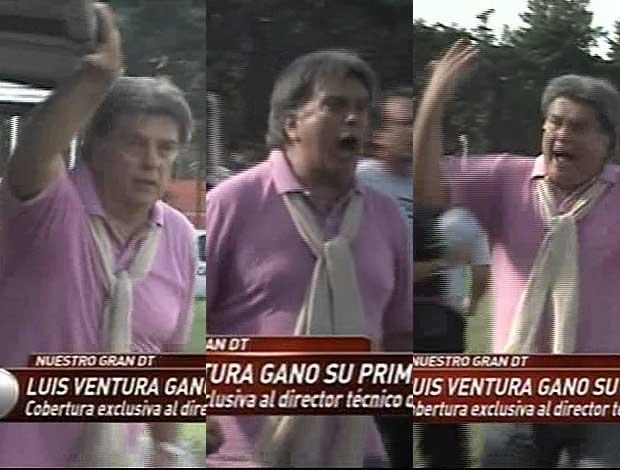 Los entretelones del debut triunfal de Luis Ventura como DT