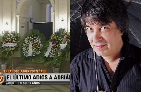 El último adiós de familiares y amigos a Adrián Otero