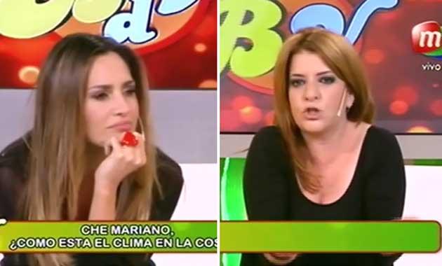 Belén Francese se enojó con Andrea Taboada cuando le preguntó por Rodrigo de la Serna