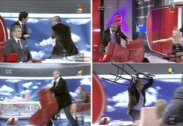 """Jorge Rial se volvió """"loco"""" y… ¡voló todo por el aire!"""