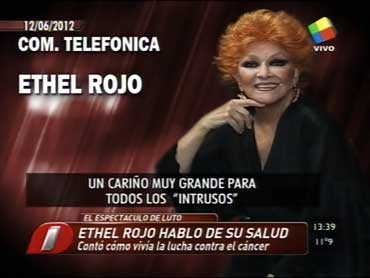 La última entrevista de Ethel Rojo