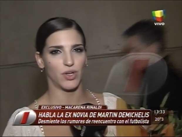 Habló la supuesta tercera en discordia entre Evangelina Anderson y Martín Demichelis