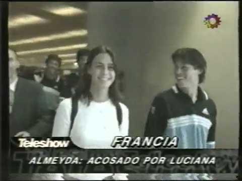 Luciana García Pena le confiesa su amor a Matías Almeyda