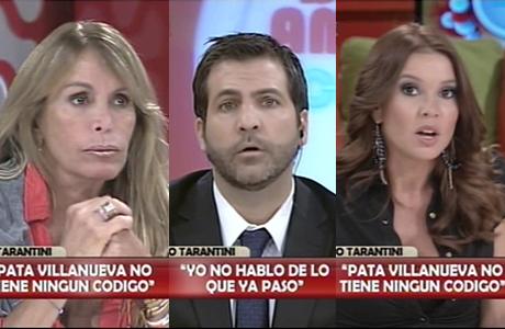 Escándalo en TV: Pata Villanueva contó anécdotas y el Conejo Tarantini explotó en vivo