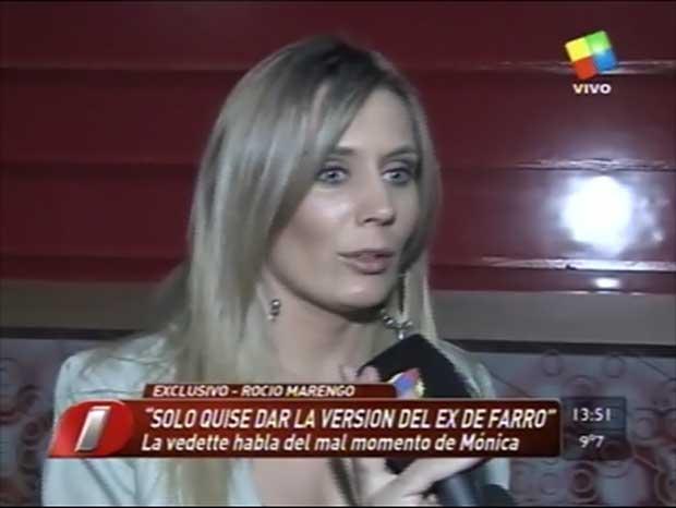 Rocío Marengo justificó su reacción ante Mónica Farro y dio explicaciones