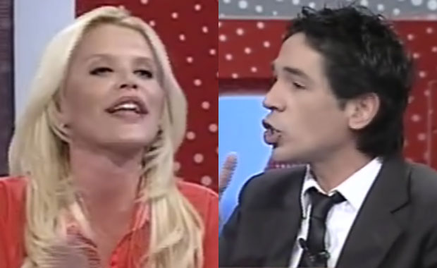 Fuerte cruce en vivo entre Nazarena Vélez y Guatti en Intrusos