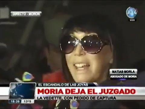 """Moria Casán, sobre el escándalo de las joyas robadas: """"Estoy totalmente libre"""""""