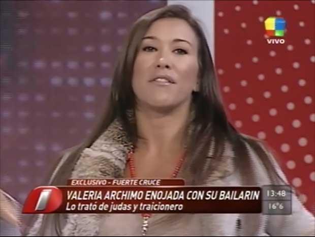 """Valeria Archimó volvió a arremeter contra su soñador: """"Es un falso y un desagradecido"""""""