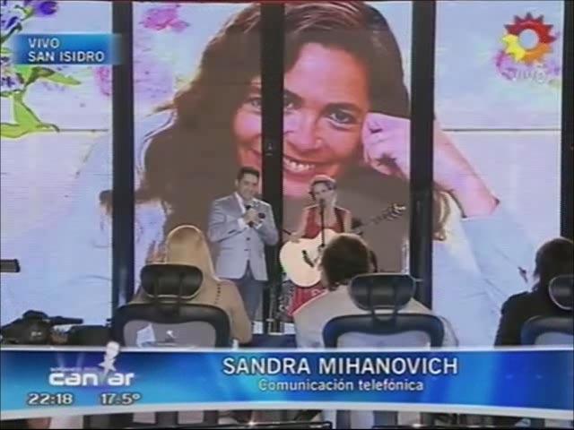 Sandra Mihanovich felicitó a su sobrina en Soñando por Bailar y habló de su felicidad