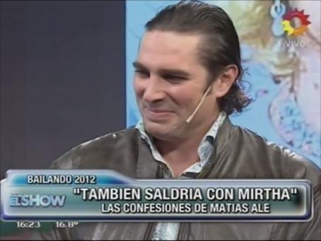 """Matías Alé: """"Invité conquistar a Carmen Barbieri"""""""