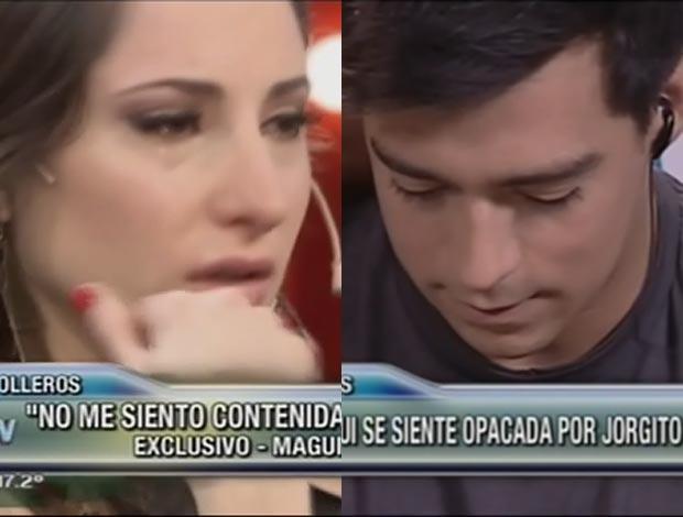 Magui Bravi y Jorge Moliniers: pelea y ¿reconciliación? en Este es el show