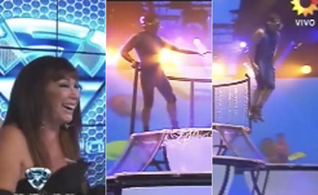 """Bailando 2012: el """"extraño Aquadance"""" de Beto César"""