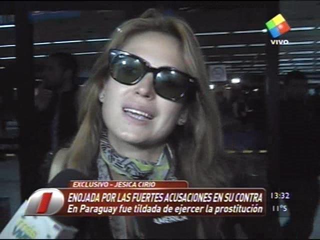 """Jésica Cirio: """"Nunca fui a Paraguay"""""""