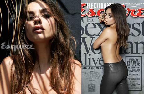 Mila Kunis, la mujer más sexy del mundo en 2012