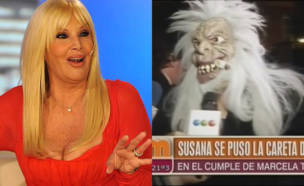 Diva con humor: Susana Giménez intentó pasar de incógnito… ¡disfrazada de bruja!