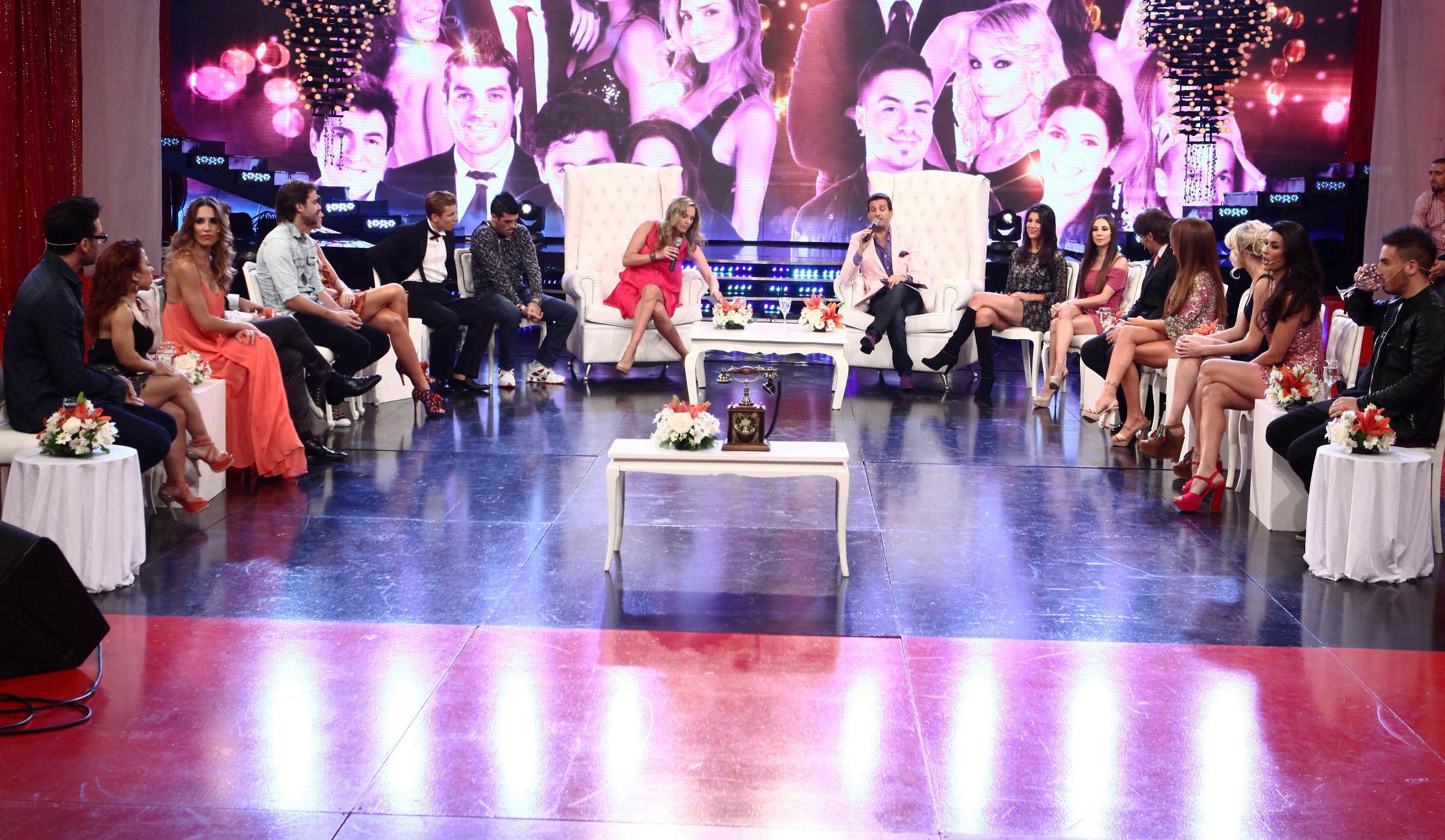 La terapia grupal de los finalistas de Bailando 2012