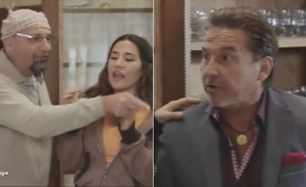 Ricardo Montaner participó de Sos mi hombre y tuvo un divertido cruce con El Puma Goity