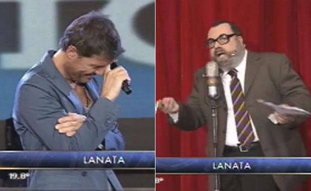 "Freddy Villarreal imitó a Lanata e ""incomodó"" a Tinelli con un picante chiste por su soltería"