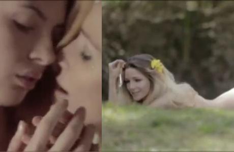 El sensual desnudo de Micaela Breque en una película