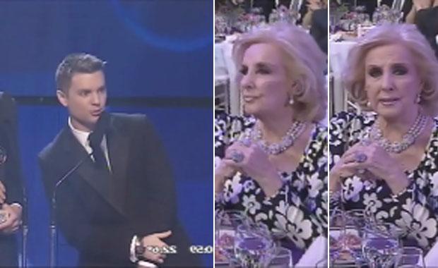 Premios Tato: el pícaro comentario de Santiago del Moro a Mirtha Legrand