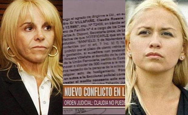 Sigue el escándalo: Verónica Ojeda pidió una orden de restricción contra Claudia Villafañe