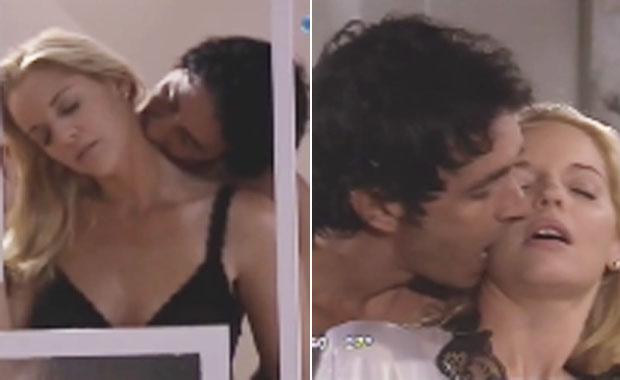 Dulce Amor: fuerte escena de sexo entre Carina Zampini y Sebastián Estevanez