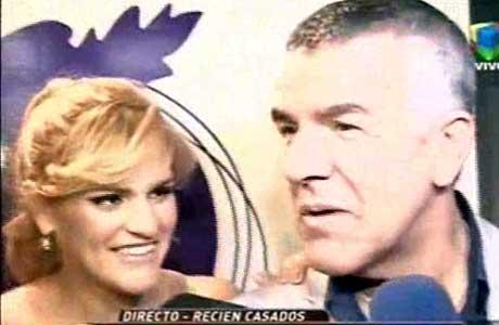 Se casaron Dady Brieva y La Chipi: ¡mirá el video!