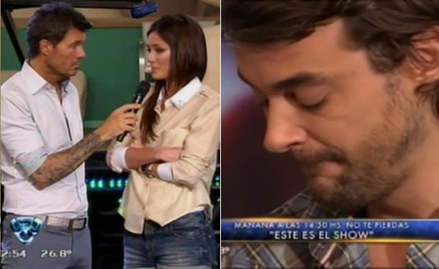 Bailando 2012: la angustia de Paula Chaves y Pedro Alfonso tras la fractura
