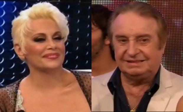 ¡Qué momento! El reencuentro de Carmen Barbieri y Santiago Bal en ShowMatch