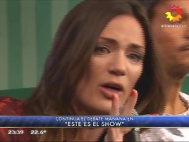 Paula Chaves, furiosa por la polémica tras su reemplazo