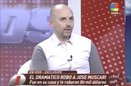 """José María Muscari, sobre el robo: """"Cometí el gran error de no poner el dinero en el banco"""""""