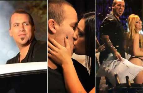 En su salsa: la divertida participación del Ogro Fabbiani en un video de cumbia