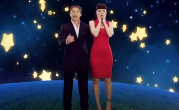 El divertido saludo navideño de Adrián Suar y Natalia Oreiro