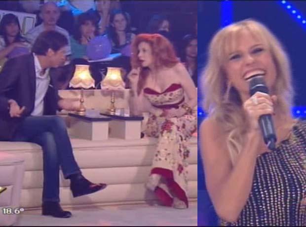 Mirá el gracioso pase de facturas de Mariana Fabbiani a Nacha Guevara