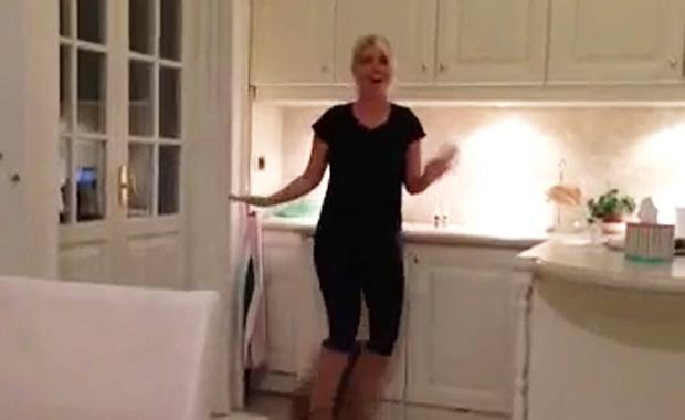 Wanda Nara, bailando y cantando cumbia: ¡la reacción de Maxi López!