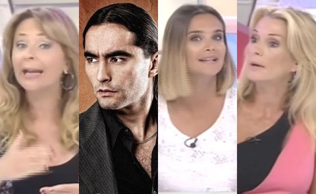 Daniel Agostini, indignado con las panelistas de Más Viviana