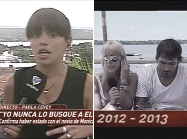 Mónica Farro dejó a su pareja en vivo, tras ver las pruebas de la tercera en discordia