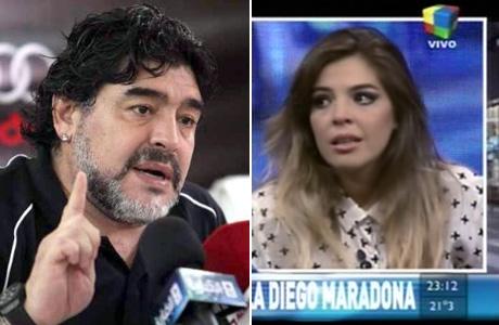 """Diego Maradona: """"Quiero ver a Dieguito Fernando, pero con Verónica se terminó"""""""