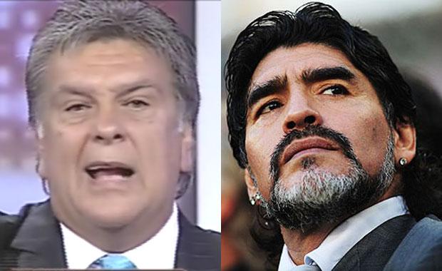 Luis Ventura, sin filtro contra Diego Maradona: sus polémicas declaraciones