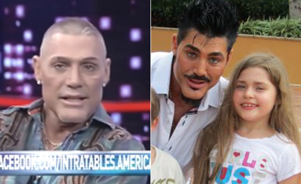 La dolorosa anécdota de Ricardo Fort con su hija