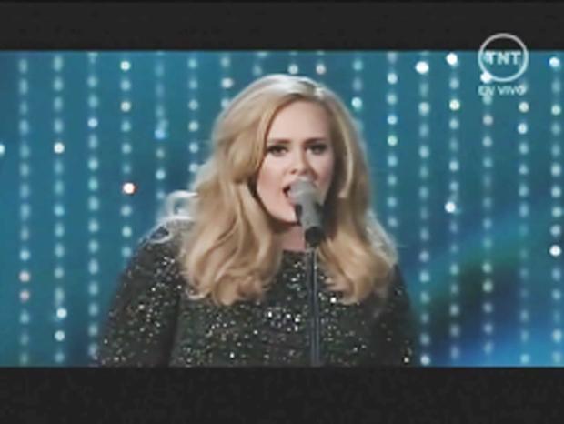 La brillante participación de Adele en la ceremonia de los Oscar