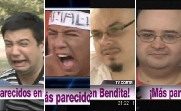 """La divertida sección de los parecidos """"callejeros"""" de Bendita"""