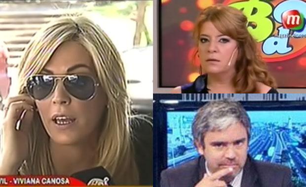 Viviana Canosa, polémica: fuerte cruce con Andrea Taboada y durísimos tweets de Camilo García