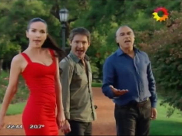 Paz Martínez participó en Solamente vos junto a Adrián Suar y Natalia Oreiro
